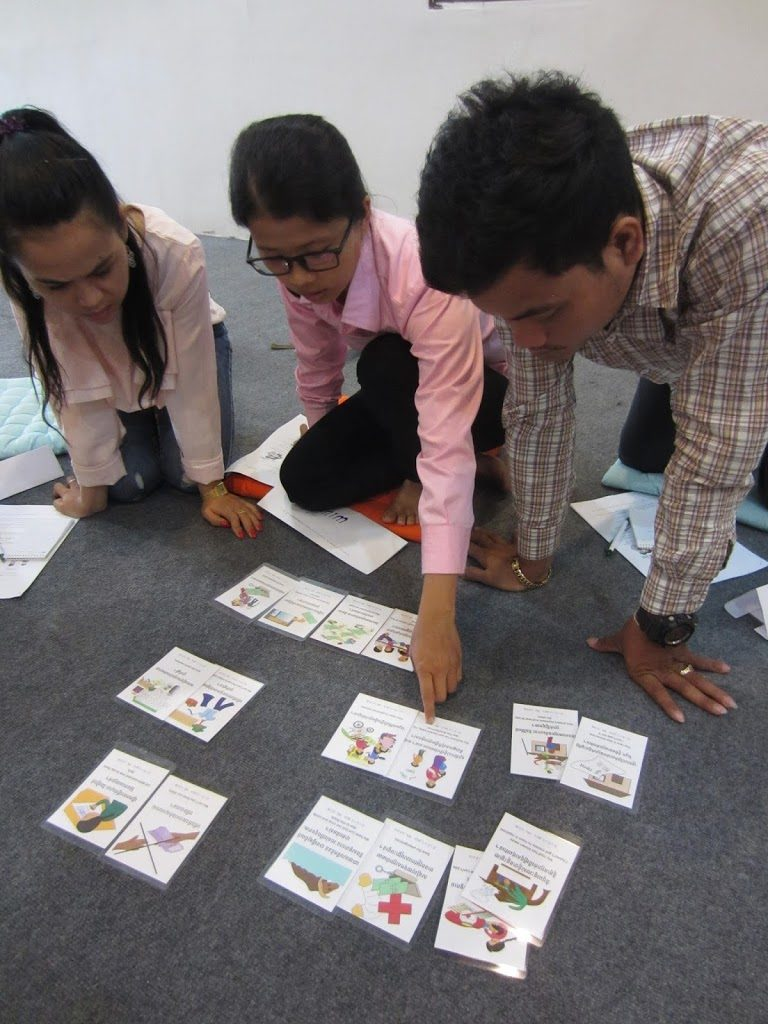 TOT Financial literacy - matching problems and solutions