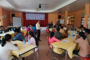 Coffee farmers training