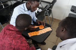 students training ESUP Senegal